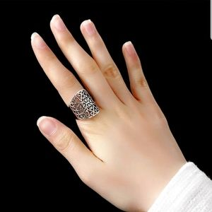 Vintage open ring 925 sterling silver 💍